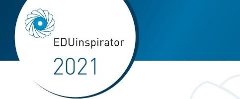 Logotyp konkursu EDUinspirator 2021